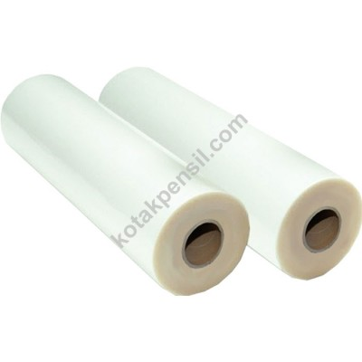 Plastik Laminating Roll Matt Dove 345 x 140m (30 mic)