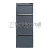 Filling Cabinet 4 Laci TIGER FC-D4A New Lock Grey